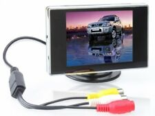 BW 3.5 TFT LCD Car Rear View Color Camera Monitor  DVD, 3.5 Inch LCD Monitor C