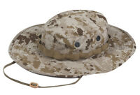 Desert Digital Camo Boonie Hat - Wide Brim Poly Cotton Ripstop by TRU-SPEC 3262