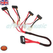 32PIN SFF-8484 a 29 Pin Cable SAS SFF-8482 HDD uso conveniente
