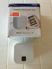 Brother P-Touch Cube Smartphone Label Maker, Bluetooth Wireless Technology, Mult