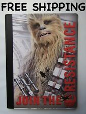 "DISNEY STAR WARS CHEWBACCA ""JOIN THE RESISTANCE"" COMPOSITION NOTEBOOK WIDE RULED"