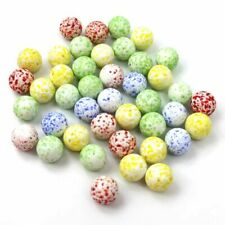 Glass Marbles Assorted Cat's Eye & Milky Coloured Kids Toys Vintage Puzzle Game
