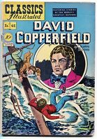 Classics Illustrated, David Copperfield #48, $0.10 - 1st Edition. HRN 47, VG