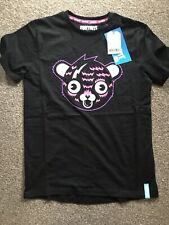 NEW WITH TAGS Next OFFICIAL Fortnite Bear T-shirt - Age 10