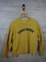 vtg Cool 90s 00s eddie bauer spellout  sweatshirt sweater jumper refA15 large