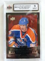Wayne Gretzky 2012-13 Black Diamond Ruby QUAD #94/100 Card KSA Graded 9