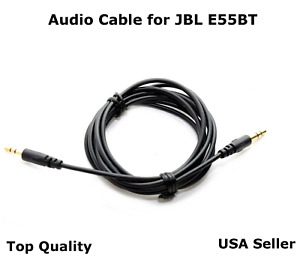 5FT 2.5mm - 3.5mm  Audio Cable Cord  Aux for JBL E55BT Free Shipping