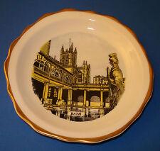 "Royal Crown Duchy ""Bath"" England 2 Color Plate Gold Trim – Fine Bone China"