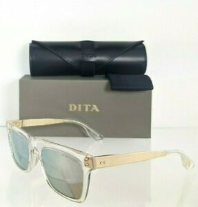 Brand New Authentic Dita Sunglasses TELION DTS120 03AF Clear Gold 51mm Frame