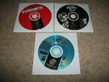 3x New Sega Dreamcast Games (PAL/UK) DISCS ONLY - MSR  -  BUZZ LIGHTYEAR  -  VF3