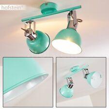 Plafonnier Lustre Métal Éclairage de cuisine Lampe à suspension verte Luminaire