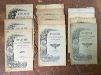 Lotto Notiziario Societè Di E Di Estensione Zoologie Fattoria 1904-1906