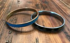 J.CREW Turquoise Enamel BANGLE Bracelet / African Animal bracelet (Unbranded)