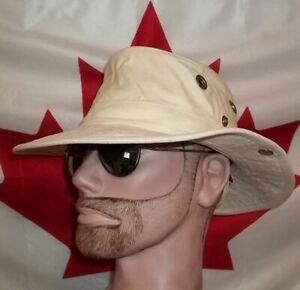 Tilley cotton duck hat T3 safari outdoor canvas natural 7 1/4 medium nice rustic