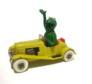 Kermit The Frog Diecast Corgi Car 1979 Vintage Muppets