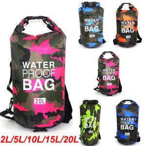Large 30L Waterproof Dry Bag Sack Kayak Sailing Fishing Camping Float bag