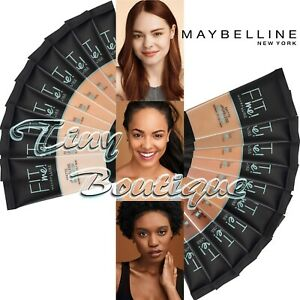 Maybelline FIT ME! Matte & Poreless Foundation for Normal-Oily Skin 20+ shades
