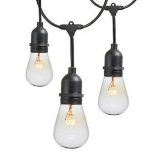 Newhouse Lighting 48 ft. 11-Watt Outdoor Weatherproof String Light w/ Bulbs