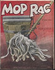 Mop Rag 1909 Large Format Sheet Music