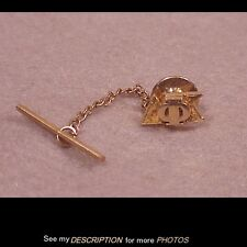 Vintage / Antique 10K GOld Fraternity Tie Tack / Pin Delta Psi Chi