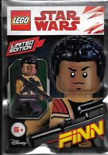 LEGO - Star Wars - Rare - Finn Minifig Foil Pack 911834 - New