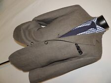 Corneliani men's 3 button dual vent patch pockets jacket coat 40 R