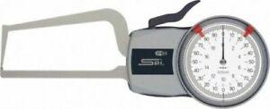 "SPI Oditest dial caliper gage 20-586-4, mechanical, 0.0 to 2.0"" measuring"