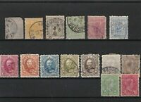 luxembourg early  used stamps ref r8482