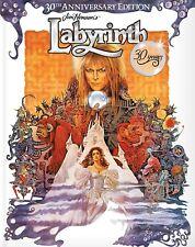 LABYRINTH 30TH ANNIVERSARY - BLU-RAY PLUS CASE - DAVID BOWIE - JIM HENSON