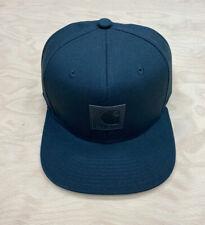 Carhartt Wip Logo Snapback Watch Hat Black Cap Streetwear Supreme Backley