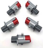 Lego 5 Blasters with 6 Barrels Push Gun Pieces no Darts