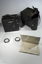 Vintage Zeiss Ikon Box Tengor + Goerz Frontar D.R.P. film camera kamera camara