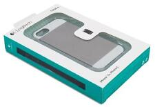 New Logitech Protection Plus [+] Phone Case White/Grey for Apple iPhone 5 5s
