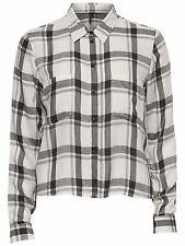 Only Damen Bluse Oberteil Shirt XS S M L XL onlLondon blau-rot kariert karo NEU
