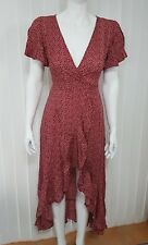 BNWT Ava Wrap Cross Front Dress. Size 8