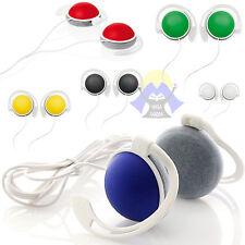 AURICOLARI Universali CUFFIE Smartphone MP3 Cellulare MP4 Sport BASSI Auricolare