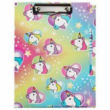 3C4G Unicorn Clipboard, Pad Stickers, Pen - 54355