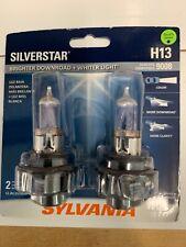 Sylvania Silverstar H13/9008 High Performance Headlight Bulbs NEW