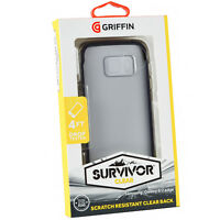 Genuine Griffin Survivor Clear Protective Case Cover For Samsung Galaxy S7 EDGE