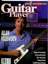 Allan Holdsworth Eric Johnson Guitar Player Magazine March 1990