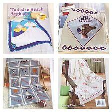 New TUNISIAN Crochet Stitch Afghans Herrschners 2011 Contest WINNERS Patterns