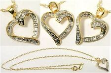 NEW Gorgeous Diamond Accented Gold over Sterling Ancient Greece Tears of Gods