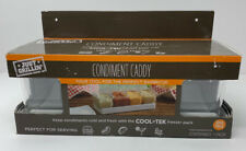 Just Grillin' Home Restaurant Outdoor BBQ Condiment Caddy In Clear