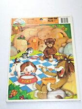 Vintage 1989 Little Golden Book Land Cavetown Poky Puppy Tray Jigsaw Puzzle Toy