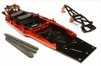 Integy Billet Traxxas Slash 2WD LCG Chassis Kit VXL Low Center Gravity Red