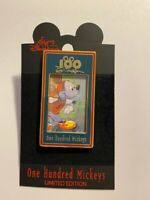 DLR One Hundred Mickey's Pin Series MM 034 In The Game Disney Pin LE (B)