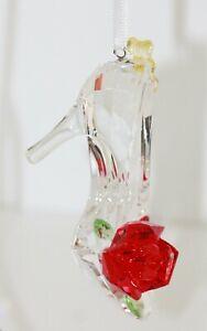 Swarovski Original Belle Inspired Shoes Ornament 5384696 New