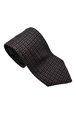 *GIVENCHY* VINTAGE LINKED G SILK TIE 57""