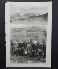 HARPER'S WEEKLY Single Page S3#007 July 1873 East African Slave-Trade