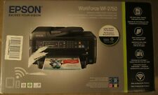 Epson WF-2750 All-in-One Wireless Color Printer with Scanner Copier Fax